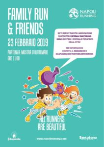 Family Run & Friends per i bambini del Santobono