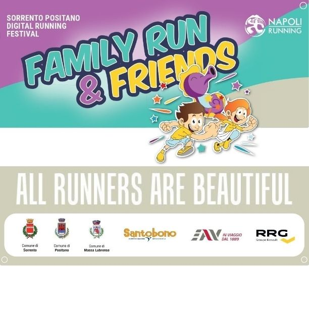 Partecipa al Sorrento Positano Digital Running Festival