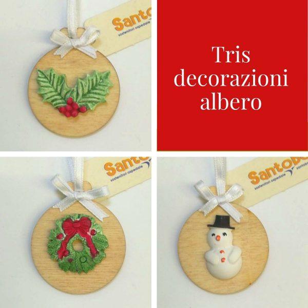 Regali Solidali: Decorazioni albero di Natale