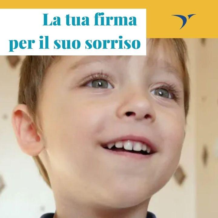 La tua firma per il suo sorriso: donando il 5 per mille al Santobono di Napoli