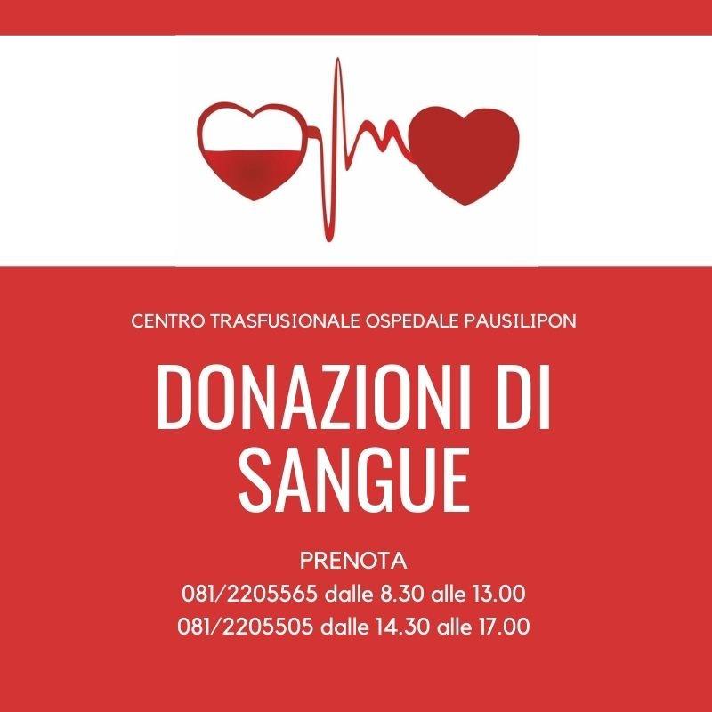 Prenota per donmare il sangue al Pausilipon