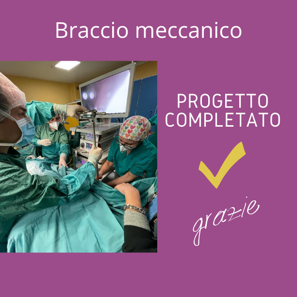 Braccio Meccanico Urologia Santobono